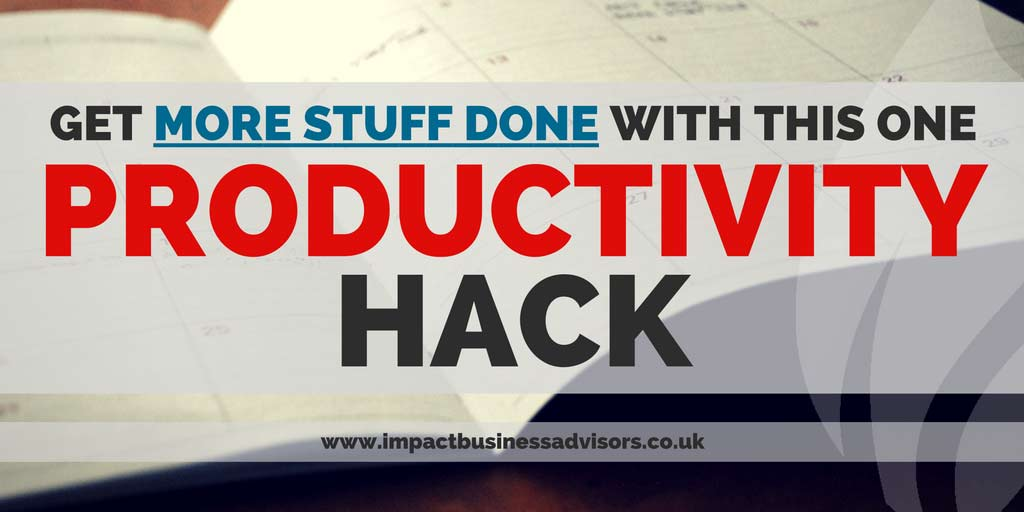 5x Your Weekly Output with this one Productivity Hack