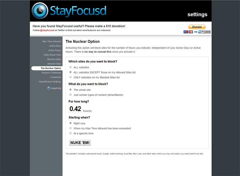 StayFocusd - Impact August Blogging Challenge